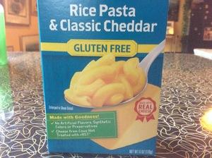 Pasta--Annies Gluten Free Rice Pasta Mac & Cheese